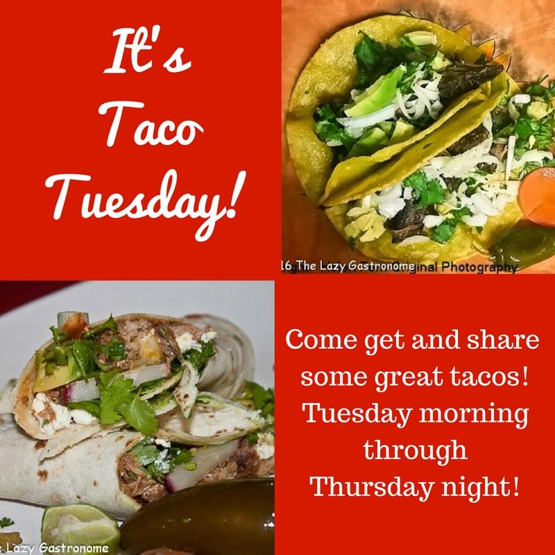 It's Taco Tuesday