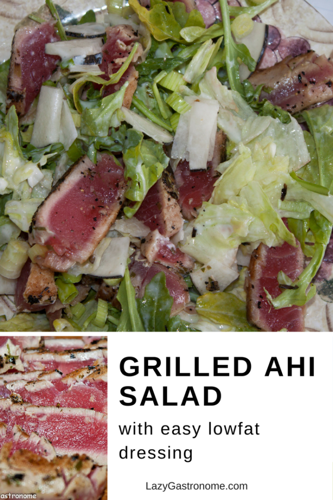 Grilled Ahi Salad